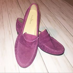 Cole Hana NikeAir suede Penny Loafers